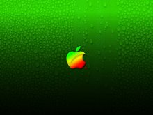 бренды - apple - яблоко