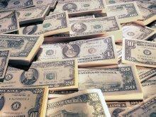 всячина - деньги - доллары, купюры