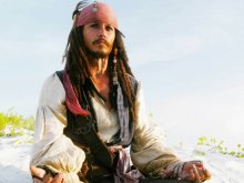 кино - пираты карибского моря - джек воробей (jack sparrow), джонни депп (john depp)