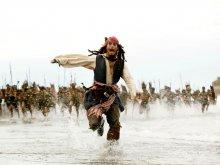 кино - пираты карибского моря - джек воробей (jack sparrow), джонни депп (john depp), индейцы
