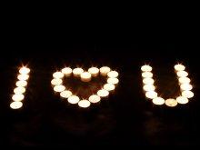 настроение - любовь - любовь, свечи, сердце